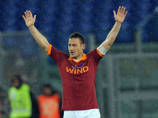 Francesco Totti: 226 Serie A goals