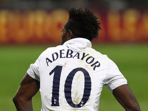 Adebayor: Targeted by racist chanting