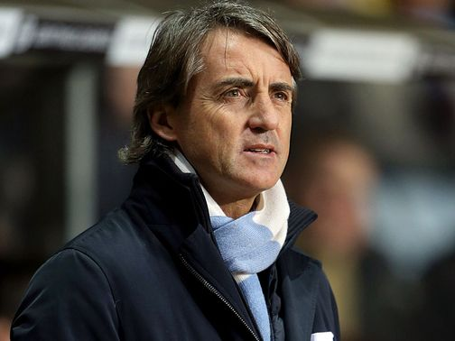 Roberto Mancini: Has come under pressure at Man City