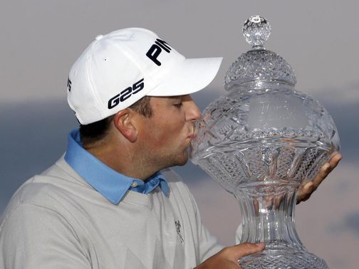 Thompson: Held his nerve to take first PGA title