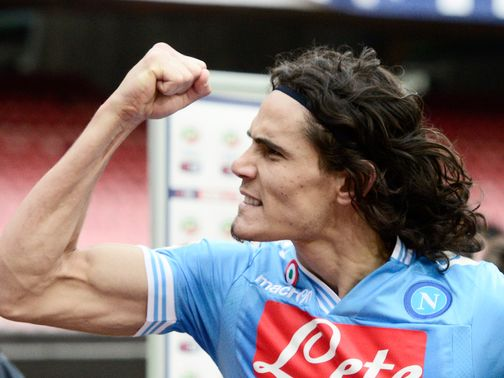 Edinson Cavani: Loves life in Napoli, according to agent