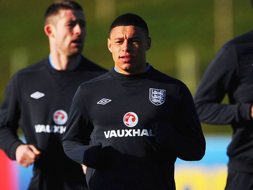 Alex Oxlade-Chamberlain: Happy to be travelling with Arsenal team-mates