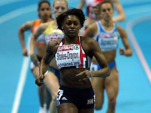 Shakes-Drayton: Two gold medals