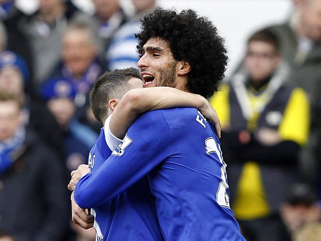 Marouane Fellaini: No bids in for Toffees star