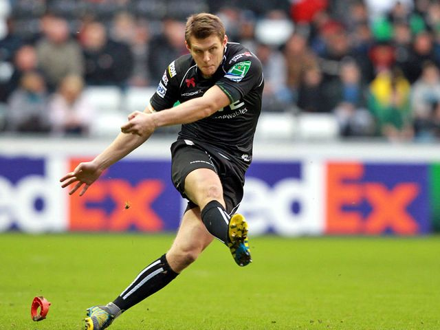 Dan Biggar: Impressed with the boot