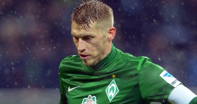 Aaron Hunt: Salvaged a draw for Bremen