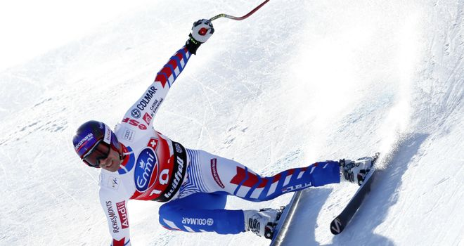 Adrien Theaux: Frenchman denied home favourite Aksel Lund Svindal on 1994 Olympic course