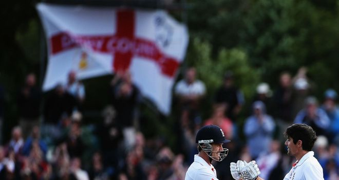 Nick Compton and Alastair Cook: Saving England from first Test defeat