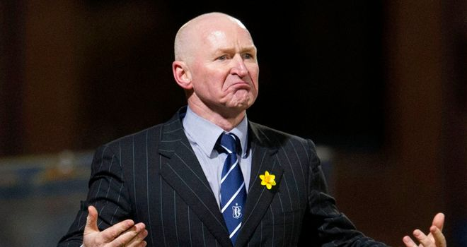 John Brown: Dundee manager refusing to give up the ghost in relegation battle