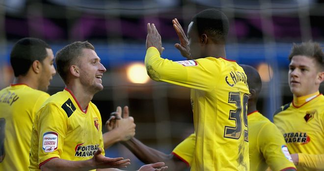 Watford: Fancied to chalk up another away win