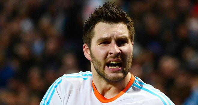Andre Pierre Gignac celebrates his late winner