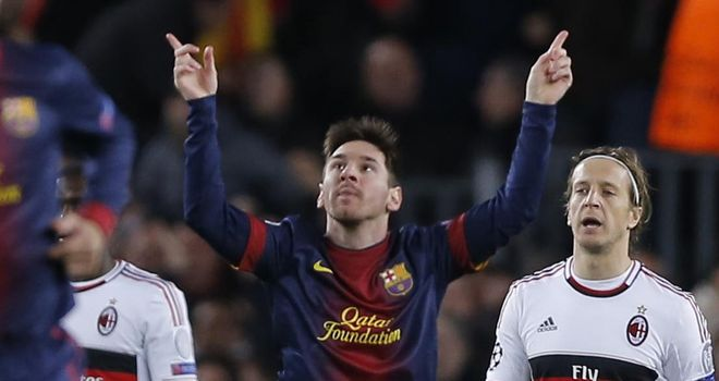 Lionel Messi: Described as a genius by Lucas Moura