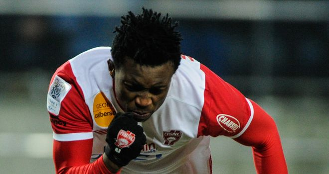 Benjamin Moukandjo bagged a brace for Nancy