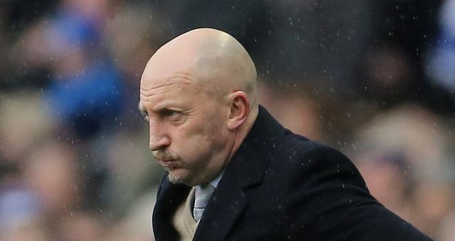Ian Holloway: Furious with Palace's defending against Brighton