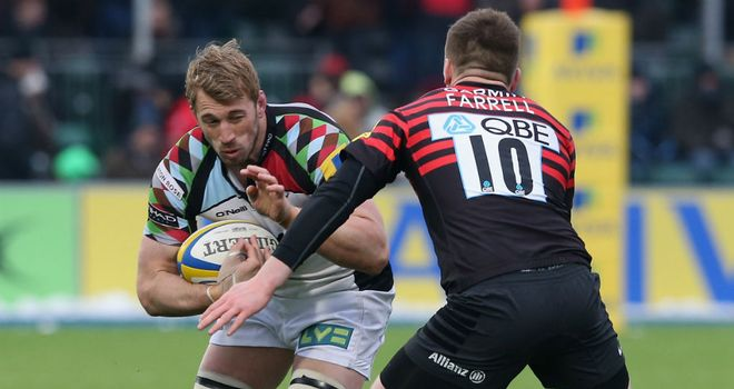 Chris Robshaw: recent form is not a concern