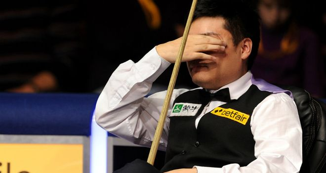 Ding Junhui: Could not live up to home expectations in China