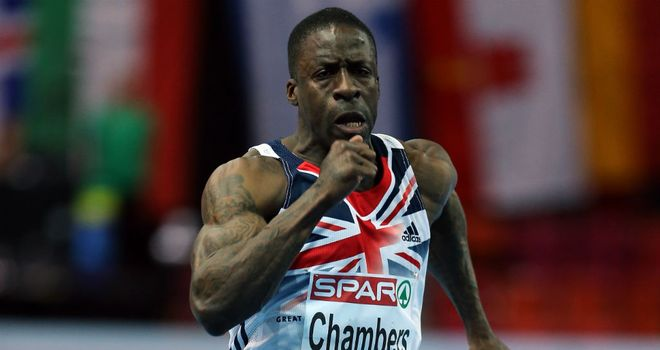 Dwain Chambers: Did not look fit as he was eliminated at European Indoors