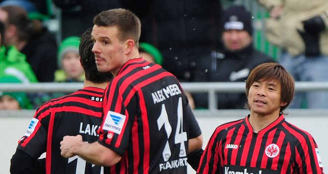Eintracht Frankfurt took three points in Bavaria