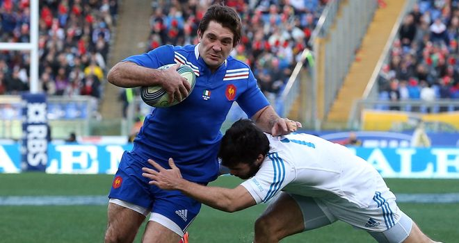 Florian Fritz: Will miss France's Six Nations clash with Scotland because of a foot infection