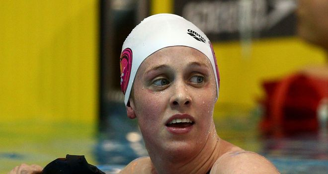 Hannah Miley: Successful in the 400m individual medley