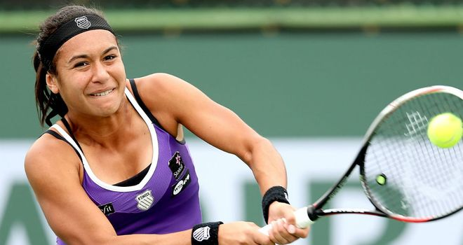 Heather Watson: Emotional after Miami defeat