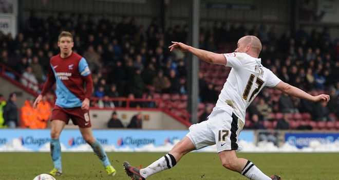 Iain Hume: Got on the scoresheet