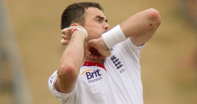 James Anderson: Wants to finish on a high
