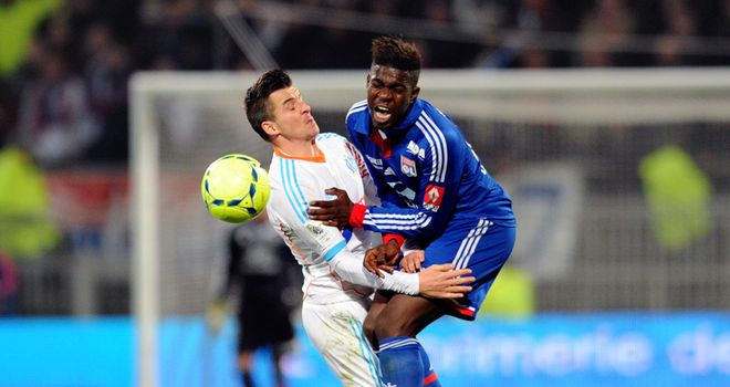 Joey Barton clashes with Samuel Umtiti