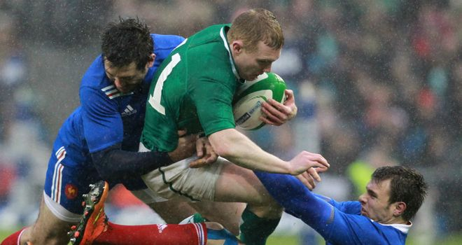 Keith Earls: Eager to finish the Six Nations with a good performance.
