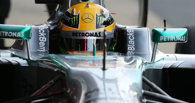 Lewis Hamilton: Showed more than a glimpse of the W04's pace on Saturday morning
