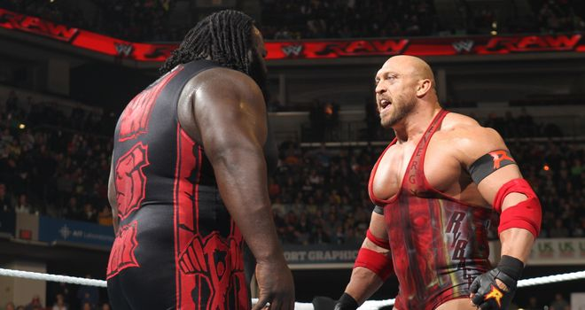 Henry and Ryback: face each other on Smackdown
