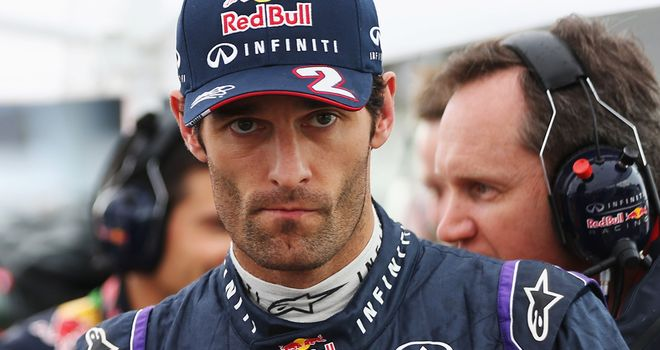 Mark Webber: Will race in China according to his father