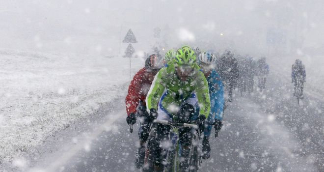 Bad weather threw up some of the most dramatic and memorable scenes of the year