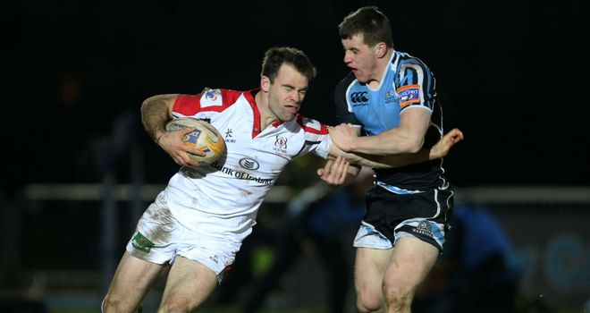 Michael Allen: Has scored two tries in 13 appearances for Ulster