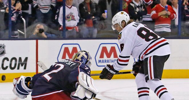 Patrick Kane netted the shootout winner as Blackhawks ended their two-game losing run