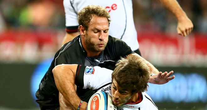 Paul Jordaan: on the scoresheet for Sharks