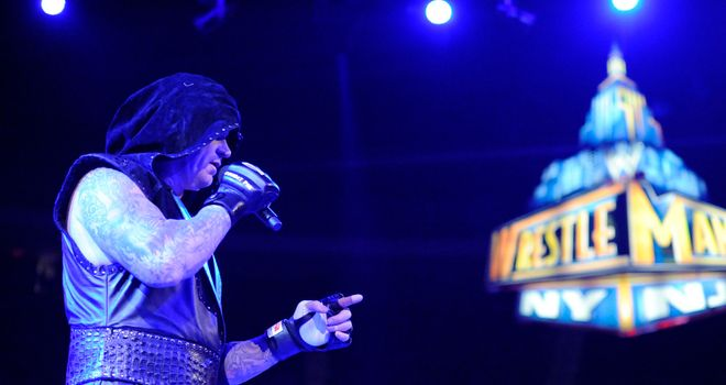 Undertaker: will move to 22-0 at WrestleMania if he beats Lesnar