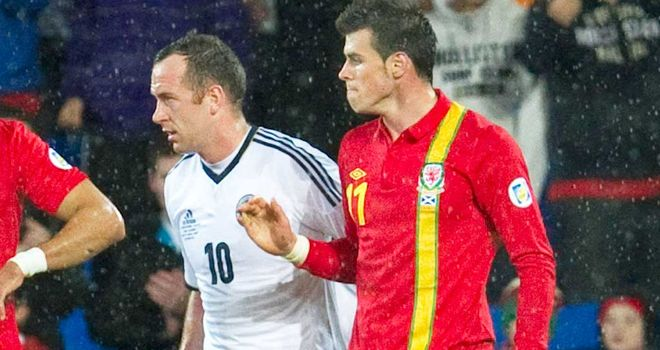 Gareth Bale: Inspired Wales to a 2-1 home victory over Scotland earlier in the campaign