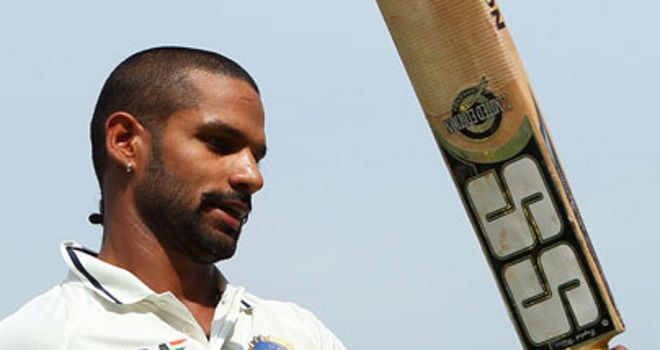 Shikhar Dhawan: Hurt a finger whilst fielding in Australia's second innings