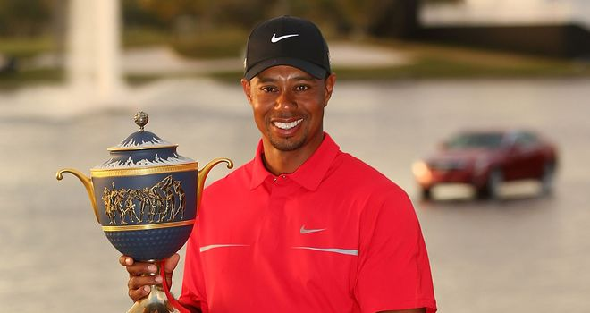 Tiger Woods: Putting lesson from Steve Stricker