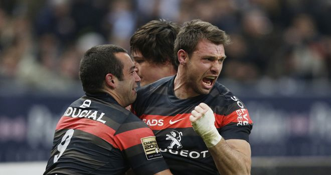Vincent Clerc: Scored two tries and was the match winner for Toulouse