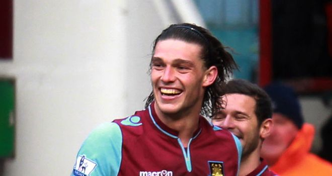 Andy Carroll: Moving closer to a permanent move to West Ham