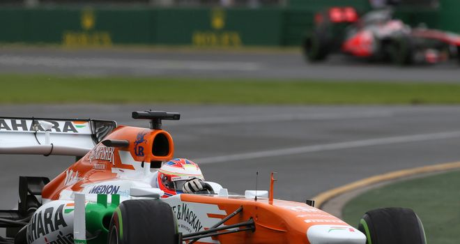 Paul di Resta: In the points in Melbourne
