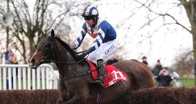 Mikey Ennis won the Midlands National aboard Big Occasion