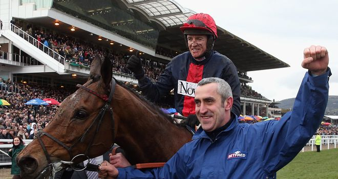 Bobs Worth: May head to the Punchestown Festival