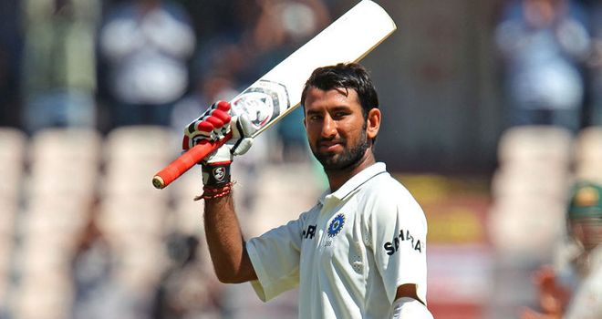 Cheteshwar Pujara: Made his second double hundred in Tests