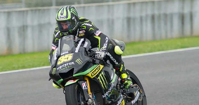 Cal Crutchlow: Briton fastest in MotoGP testing at Jerez
