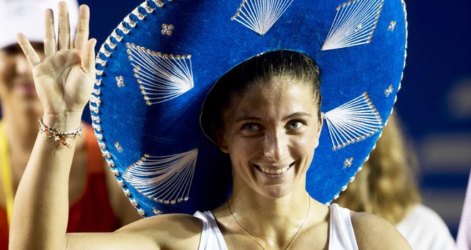 Sara Errani: Second straight triumph in this event