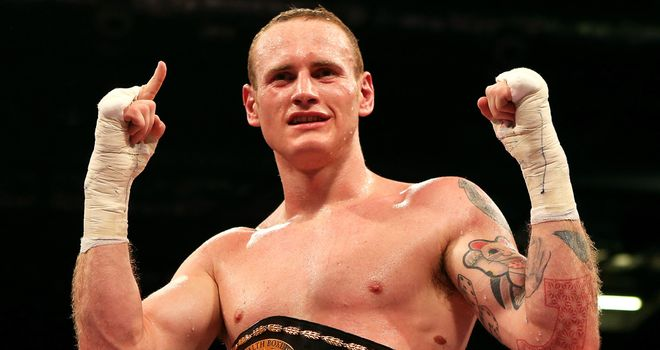 Groves: is ready to move into world title reckoning