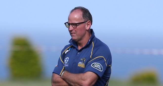 Jake White: Determined to see out contract with ACT Brumbies